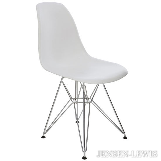 Wonderful Plastic Dining Chairs Nuevo Max White Plastic Dining Chair Hgzx217 Jensen Lewis New