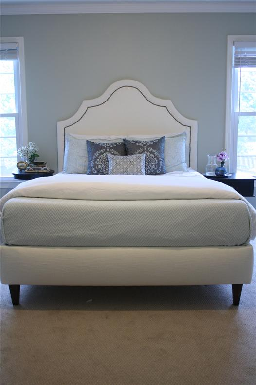 Wonderful Platform Bed With Upholstered Headboard Diy Upholstered Platform Bed Complete Guide