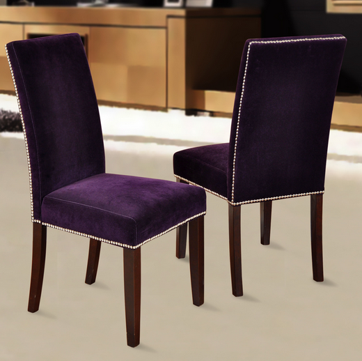Wonderful Purple Dining Chairs Top 8 Purple Dining Room Chairs Cute Furniture