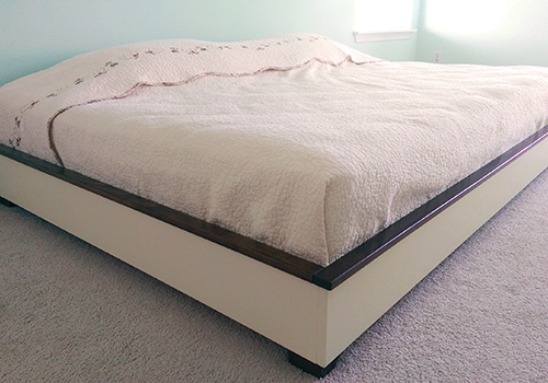 Wonderful Queen Size Bed Frame With Mattress Build A Queen Size Bed Frame Diywithrick