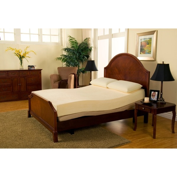 Wonderful Queen Size Memory Foam Bed Frame Sleep Zone Deluxe Adjustable Bed 8 Inch Queen Size Memory Foam