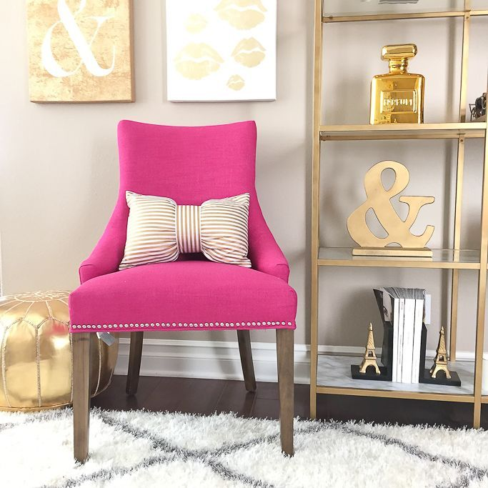 Wonderful Red And Gold Accent Chairs Best 25 Pink Accent Chair Ideas On Pinterest Blush And Gold