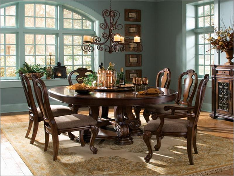 Wonderful Round Dining Room Tables Download Round Dining Room Tables For 8 Gen4congress