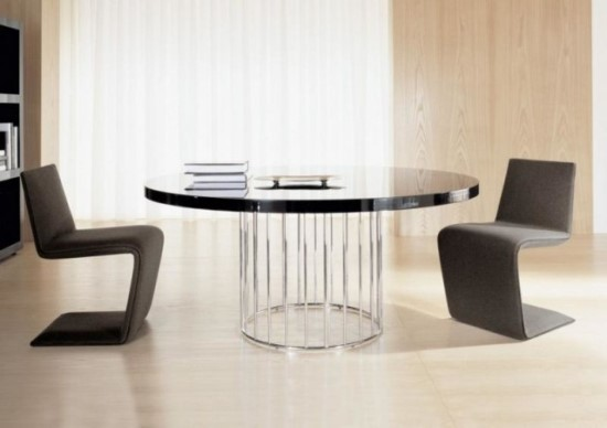 Wonderful Round Dining Table Modern Design Great Modern Round Dining Room Sets And 50 Round Dining Table