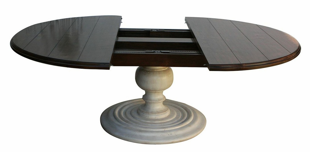 Wonderful Round Dining Table With Leaf Round Dining Table With Leaf Extension Special For You