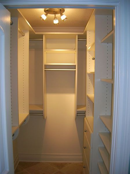 Wonderful Small Walk In Closet Design Interior Design Small Walk In Closet White Walk In Closet