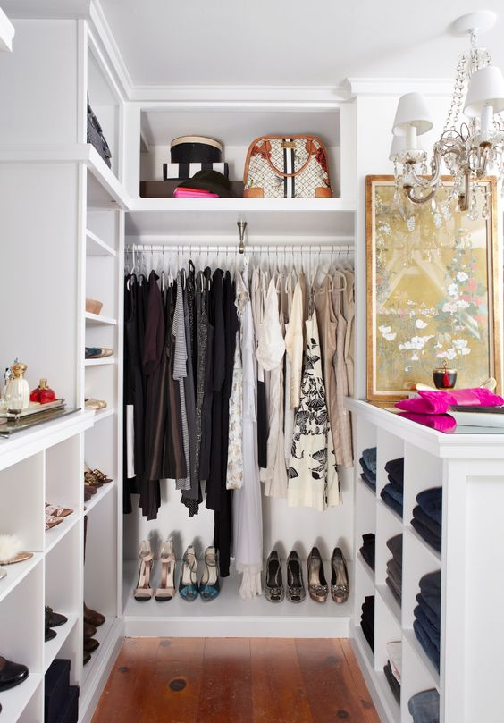 Wonderful Small Walk In Closet Organization 4 Small Walk In Closet Organization Tips And 28 Ideas Digsdigs