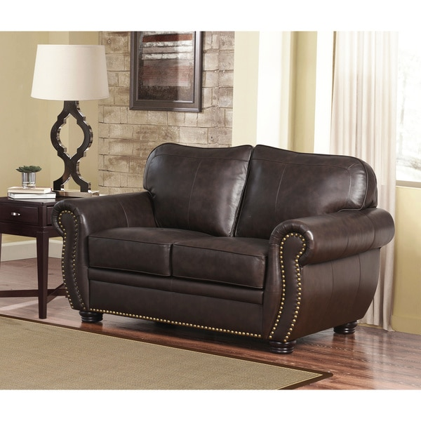 Wonderful Sofa Loveseat And Ottoman Set Abson Richfield 4 Piece Premium Top Grain Leather Sofa Loveseat
