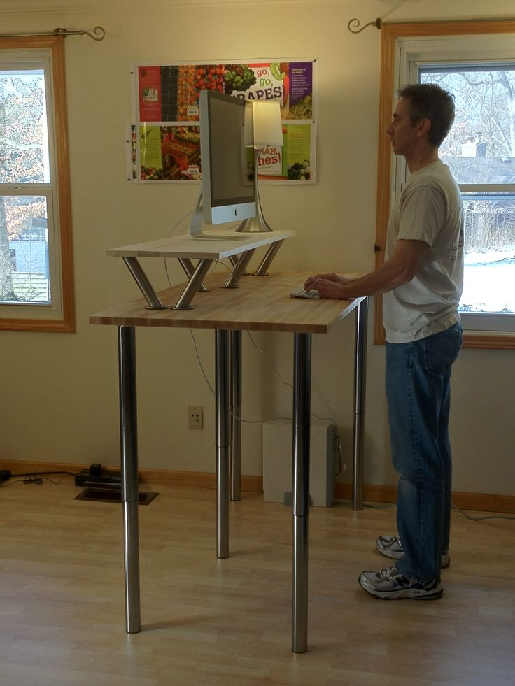 Wonderful Standing Computer Desk Ikea Amazing Ikea Standing Computer Desk 25 Best Ideas About Ikea