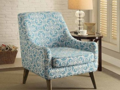 Wonderful Teal And Grey Accent Chair Popular Of Blue And White Accent Chair With Accent Chairs