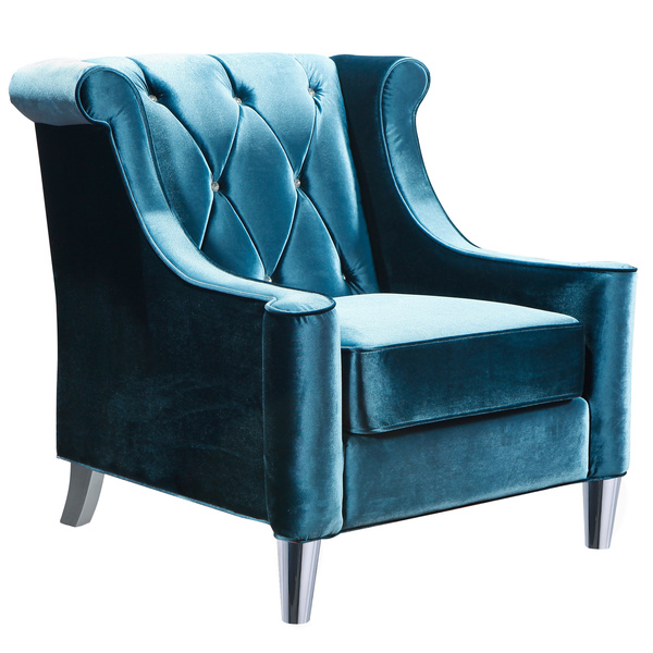 Wonderful Turquoise Blue Accent Chair Great Attractive Blue Velvet Accent Chair Residence Decor