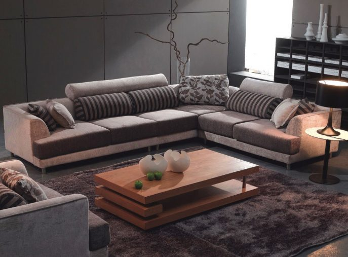 Wonderful U Shaped Sectional Sleeper Sofa Sofas Magnificent Gray Leather Sectional Leather Sectional