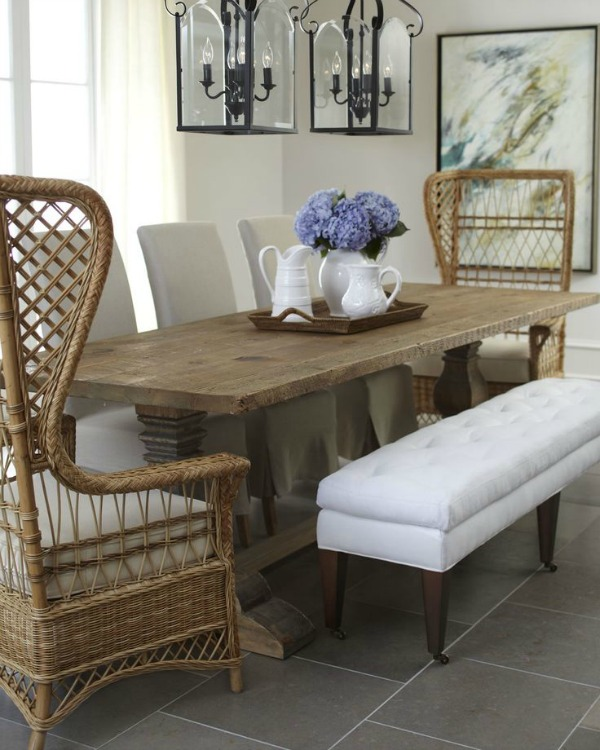 Wonderful Upholstered Dining Room End Chairs Dining Room Design Ideas Mixed Seating Driven Decor