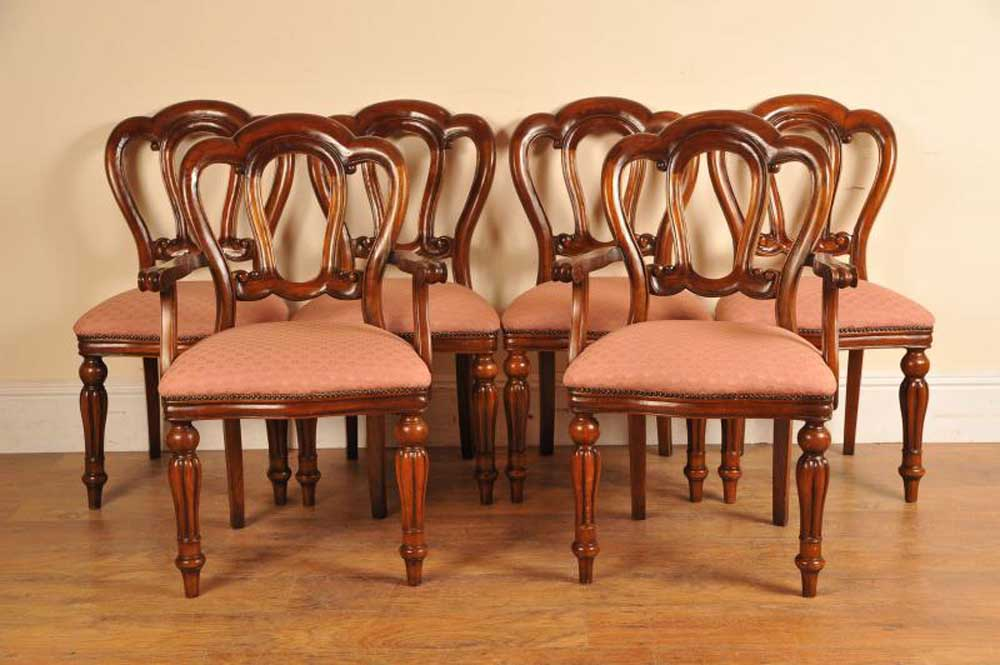 Wonderful Used Dining Chairs Victorian Dining Chairs Mahogany And Walnut Chairs Canonbury