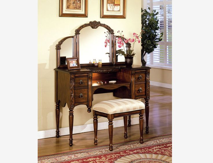 Wonderful Vanity Sets With Mirror And Bench 299 Best Toaletki Images On Pinterest Antique Furniture Art