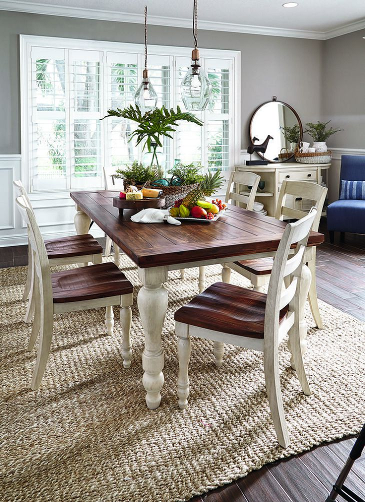Wonderful White And Brown Dining Chairs Excellent Dining Room Table Sets White Brown Dining Table And