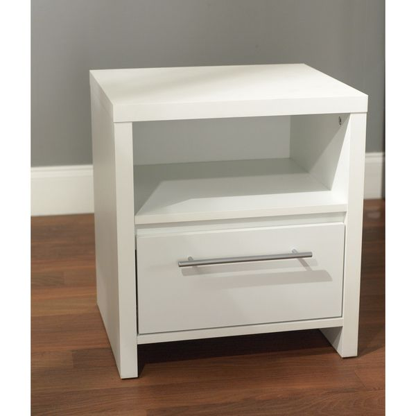 Wonderful White And Silver Nightstand Best 25 White Nightstand Ideas On Pinterest White Bedroom Decor