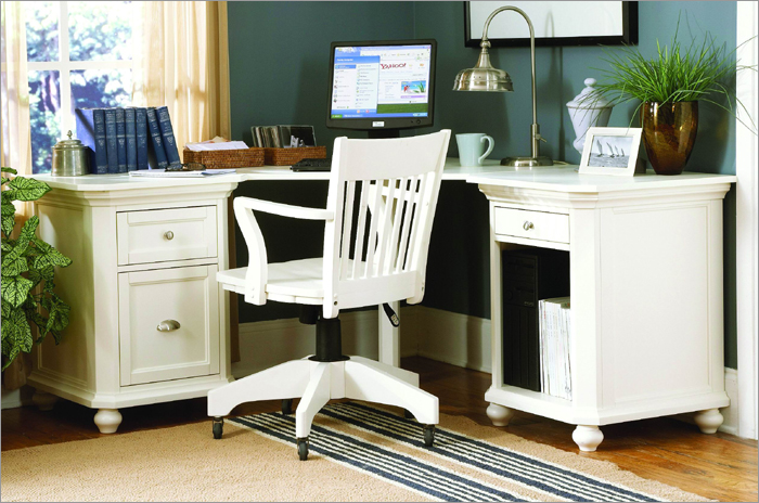 Wonderful White Home Office Furniture Sets White Home Office Furniture Sets Great Design Ideas Best 10