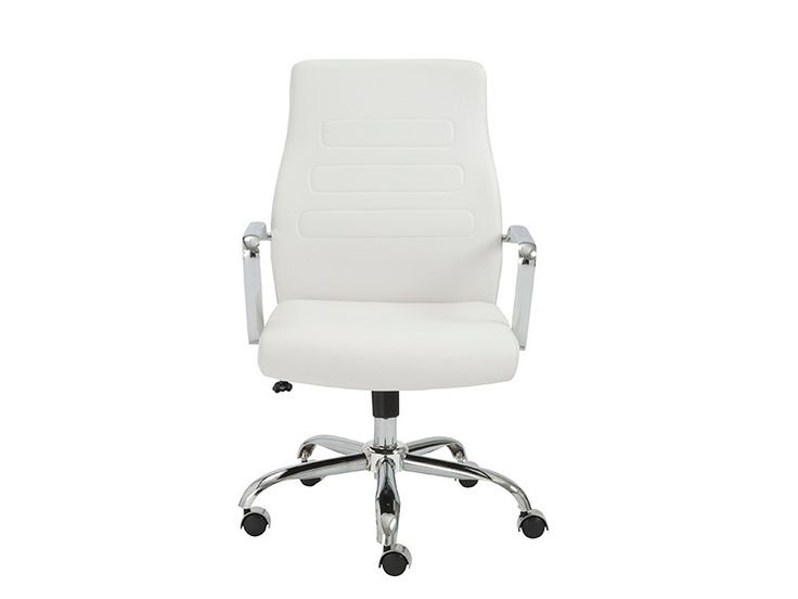 Wonderful White Office Chair Best 25 White Leather Office Chair Ideas On Pinterest Small