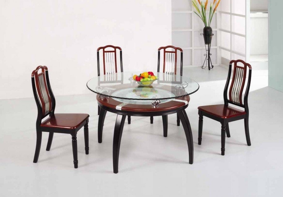 Wonderful Wood And Glass Dining Table Designs Luxury Glass Dining Table 565 Latest Decoration Ideas