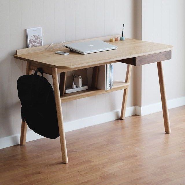 Wonderful Wood Desk Designs Best 25 Wooden Desk Ideas On Pinterest Diy Wooden Desk Office