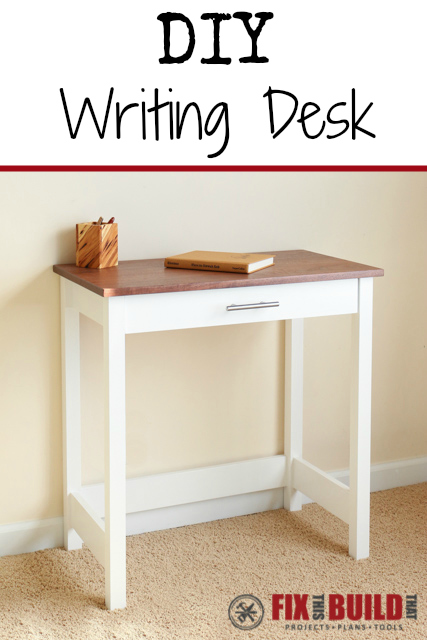 Wonderful Writing Desk Plans Diy Writing Desk Fixthisbuildthat